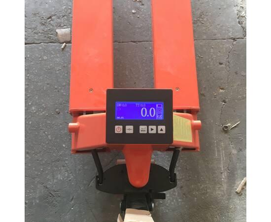 TOR CBY-CW 2000 Тележка гидравлическая с весами (полиуретановые колёса)