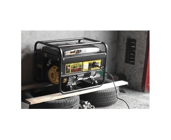 Huter DY4000LX Электрогенератор с электростартером