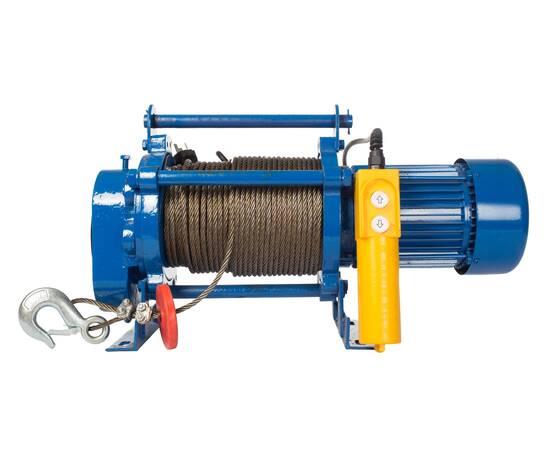 TOR KCD-300 кг, 220 В с канатом 70 м Лебедка электрическая