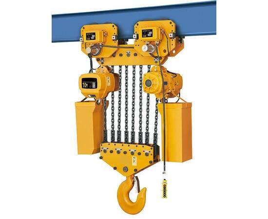 TOR ТЭЦП HHBD10-04T 10 т 12 м 380 В Таль электрическая цепная